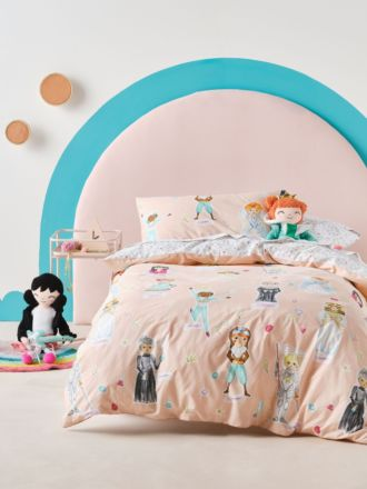You Go Girl Quilt Cover Set