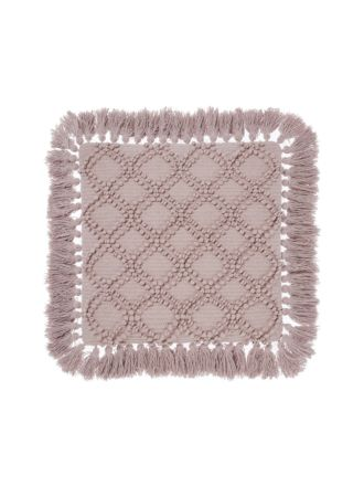 Circlet Mauve Cushion 48x48cm