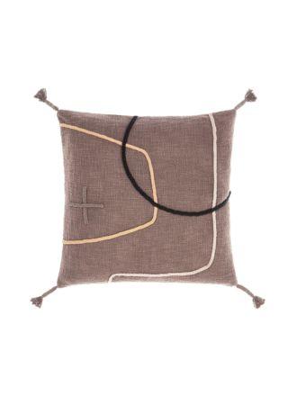 Exon Mocha Cushion 48x48cm