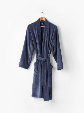 Nara Bluestone Bath Robe
