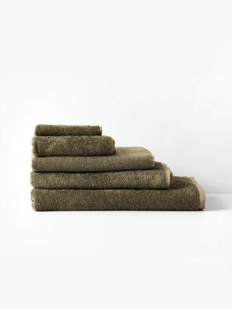 Nara Moss Towel Collection
