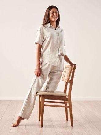 Nimes Natural Linen Shirt