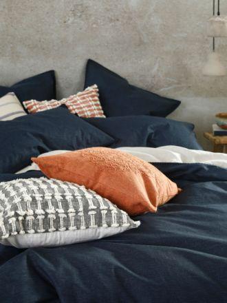 Stitch Navy European Pillowcase