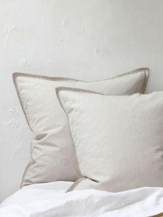 Stitch Pumice European Pillowcase