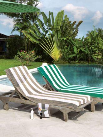 Beach Towel Chair Cover - Emerald
