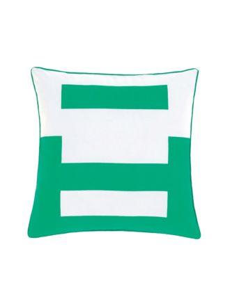 Triplicity Green Cushion 45x45cm