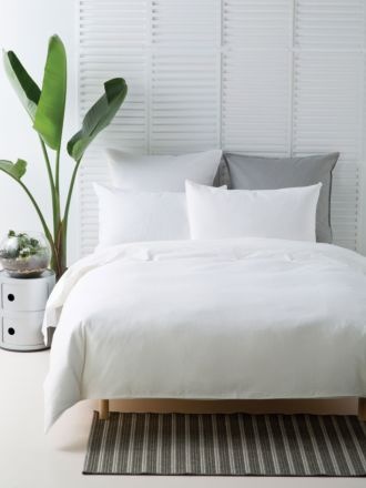 Waffle White Quilt Cover Set
