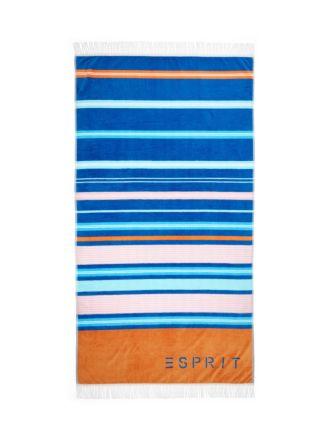 Paradiso Navy Beach Towel