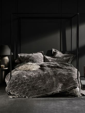 Meyer Charcoal Bed Cover