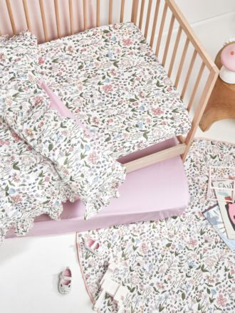 Happy Meadow 2-Piece Cot Fitted Sheet