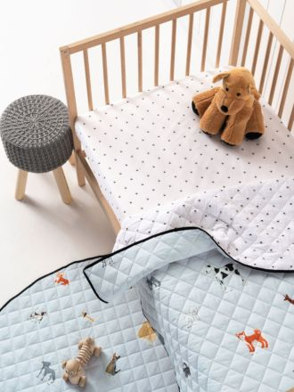 Dogs For Days Cot Coverlet