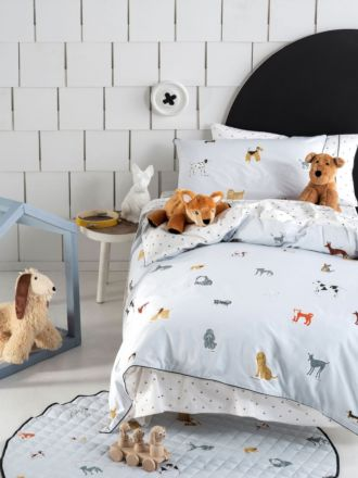 Dogs For Days Quilt Cover Set