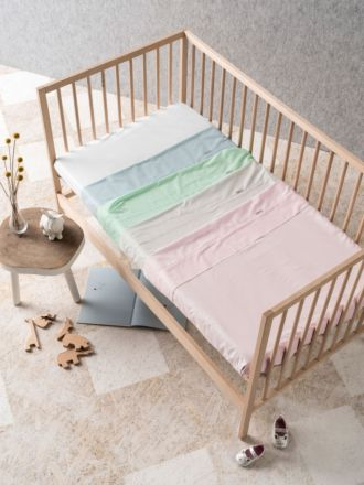 225TC Cotton Cot Sheet Set