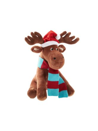 McKenzie Moose Novelty Cushion