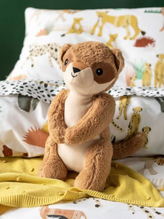 Mosi Meerkat Novelty Cushion