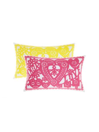 Papel Picado Cushion 30x50cm