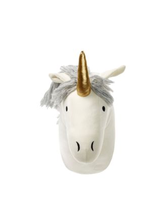 Unicorn Head Novelty Cushion