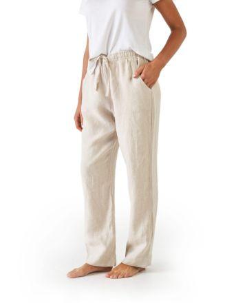 Nimes Natural Linen Pants