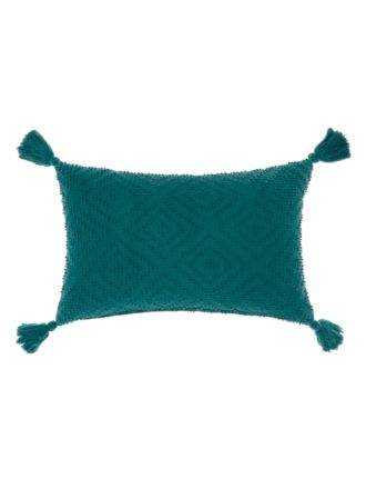 Aurora Teal Cushion 35x55cm