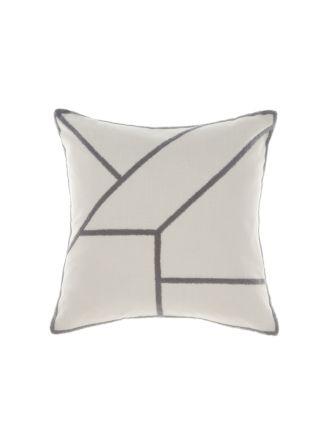 Diameter Silver Cushion 50x50cm