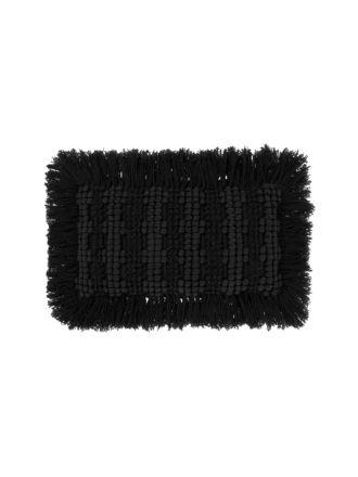 Diego Black Cushion 35x55cm
