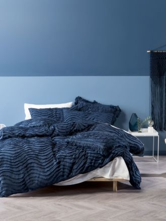 Drift Denim Quilt Cover Set