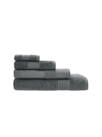 Enver Charcoal Towel Collection