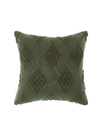 Fawkner Olive Cushion 50x50cm