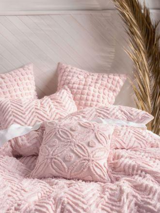 Fog Pink Cushion 45x45cm