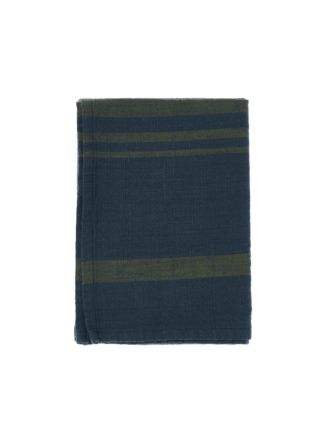 Karis Navy Tea Towel
