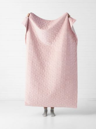 Kew Dusty Rose Throw