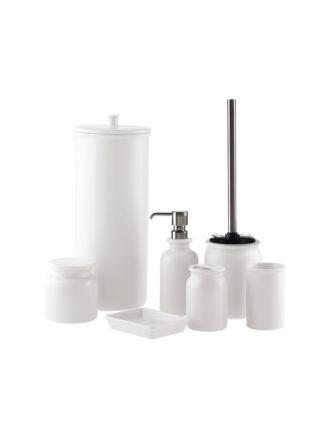 Marino White Bathroom Collection
