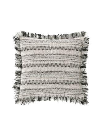 Menton Black Cushion 43x43cm