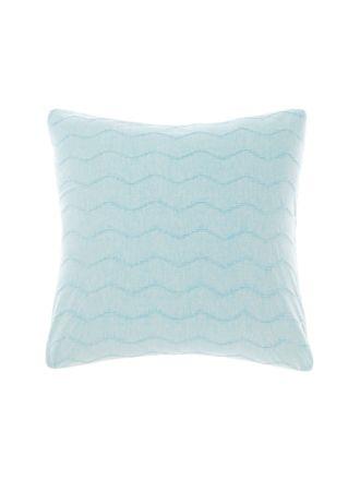 Mickael Blue European Pillowcase