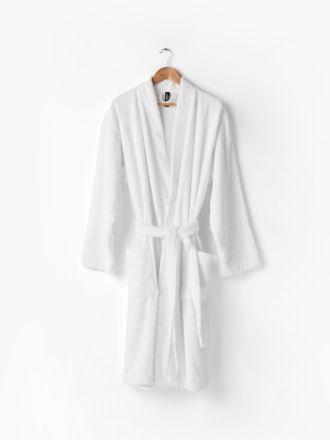 Nara White Bath Robe