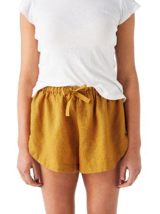 Nimes Chai Linen Shorts