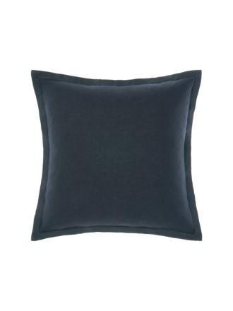 Nimes Indigo Tailored Linen Cushion 48x48cm