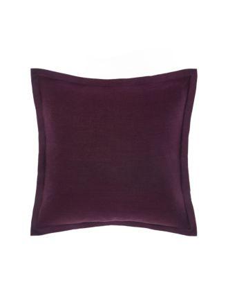 Nimes Tailored Linen Wine Cushion 48x48cm