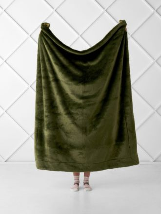 Selma Olive Throw