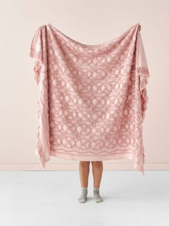 Somers Rose Throw