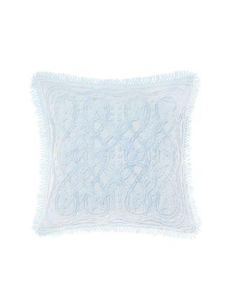 Somers Soft Blue European Pillowcase