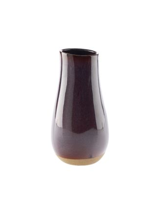 Splendor Purple Vase 25cm
