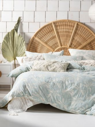 Tropea Aqua Quilt Cover Set