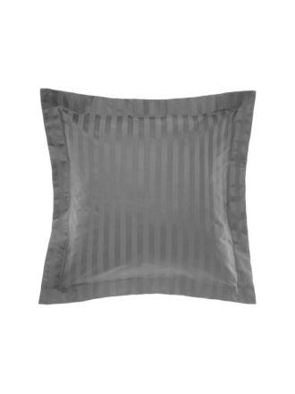 Vaucluse Charcoal European Pillowcase