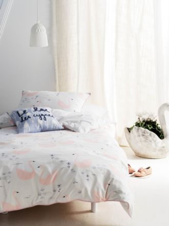 Swan Lake Quilt Cover Set