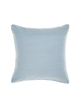 Nimes Blue Linen European Pillowcase