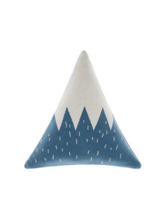 Snowy Mountain Novelty Cushion