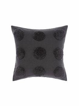 Haze Charcoal Cushion 45x45cm