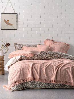 Shani Blush Bed Cover
